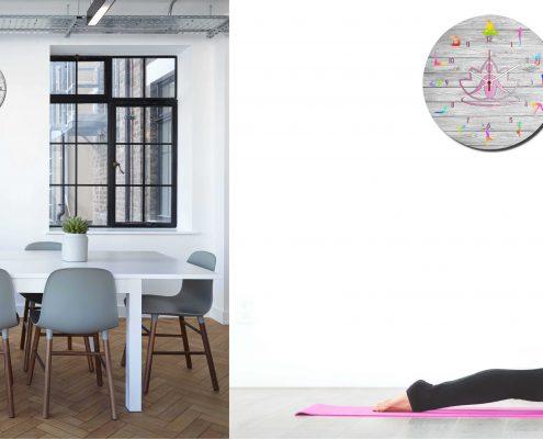 Foto cocina reloj yoga