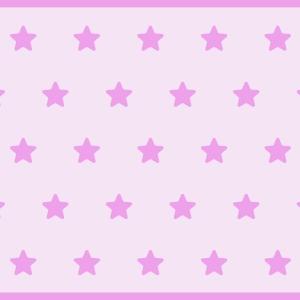 Alfombra vinilica estrellas rosas