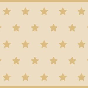 Alfombra vinilica estrellas beige