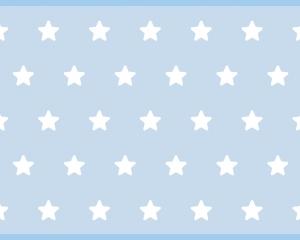 Alfombra vinilica estrellas azules