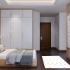 dormitorio alfombra vinilica huellas
