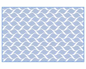 Alfombra vinílica Waves 1