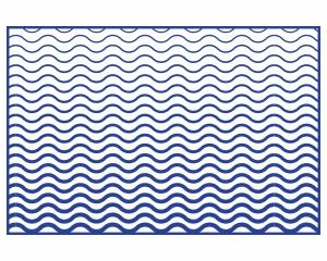 Alfombra vinílica Waves 2