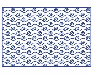 Alfombra vinílica Waves 3